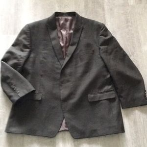 Brown sports coat